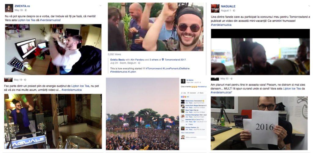 Colaj Lipton Tomorrowland 2016