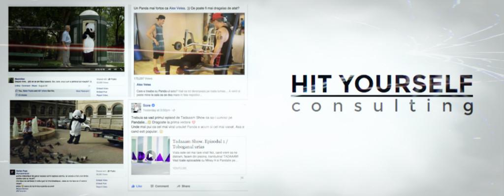 Colaj Hit Yourself - campanie Panda